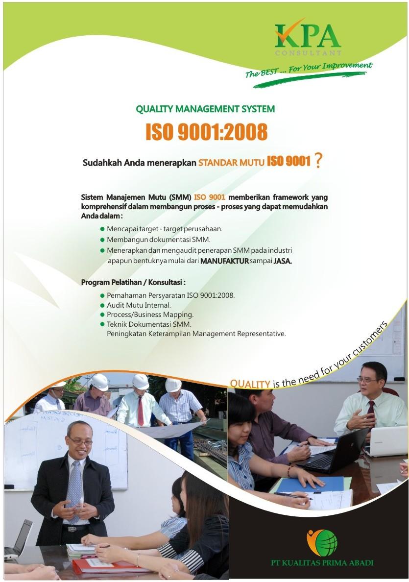 Brosur ISO 9001