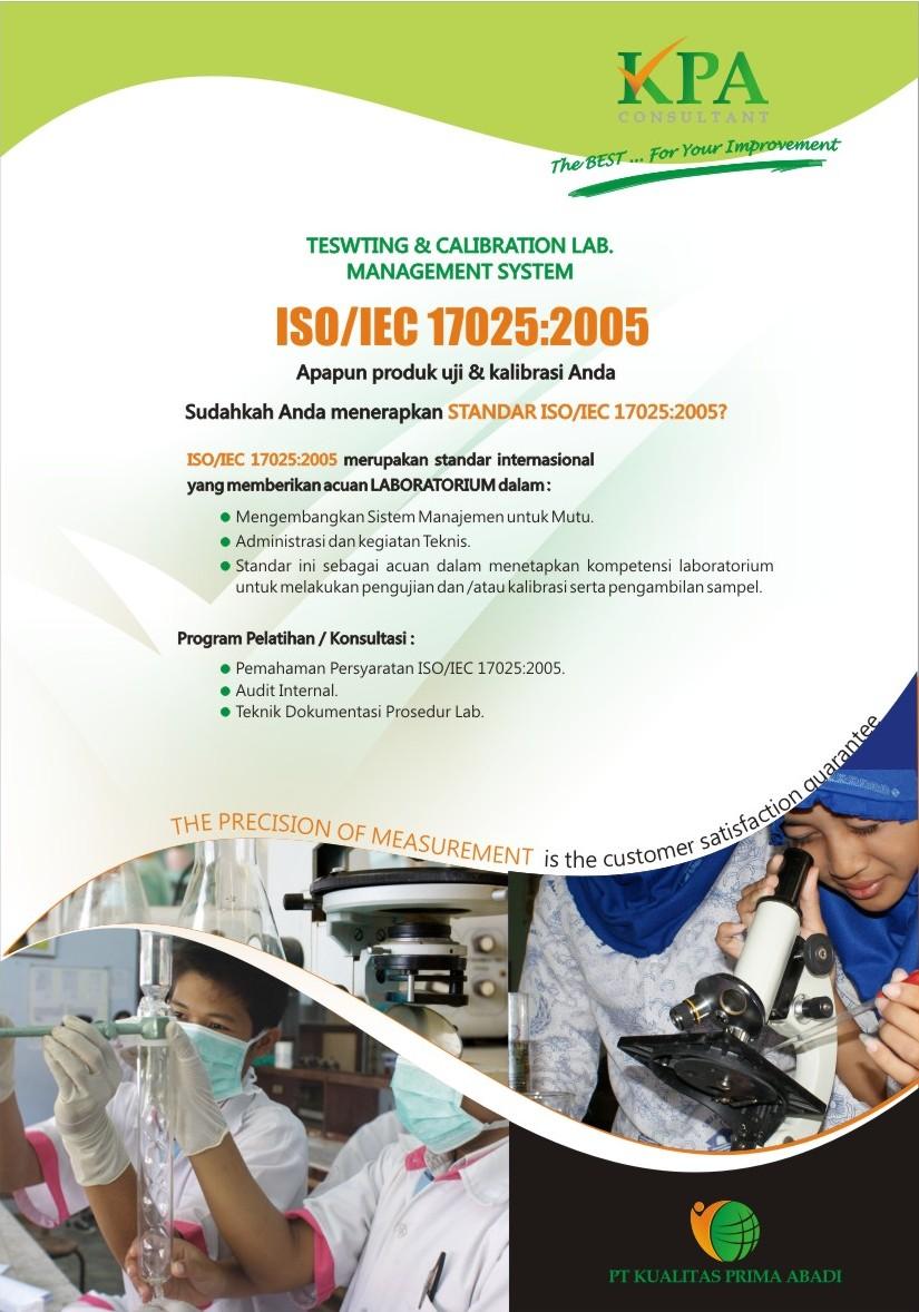 Brosur ISO 17025