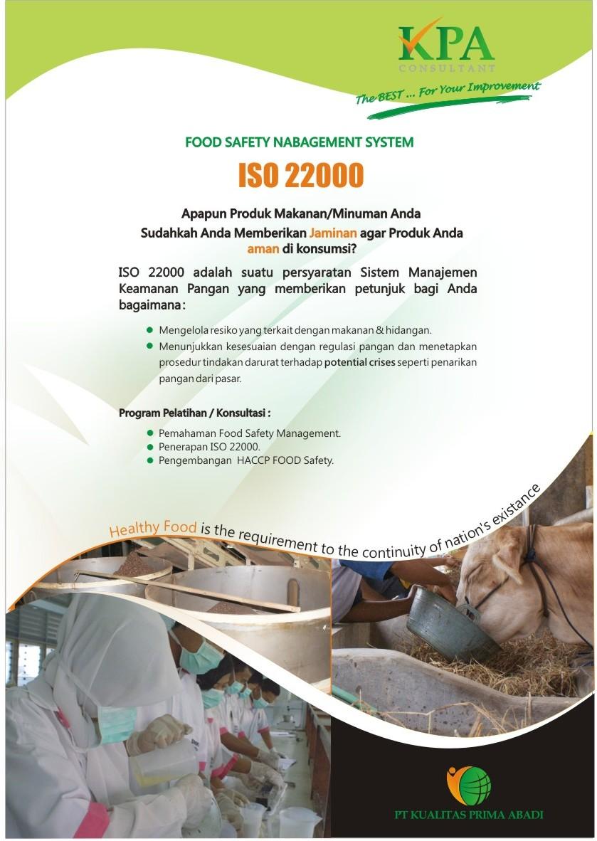 Brosur ISO 22000